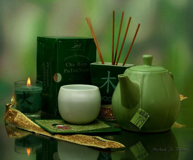 Abnehmen mit gruenem Tee